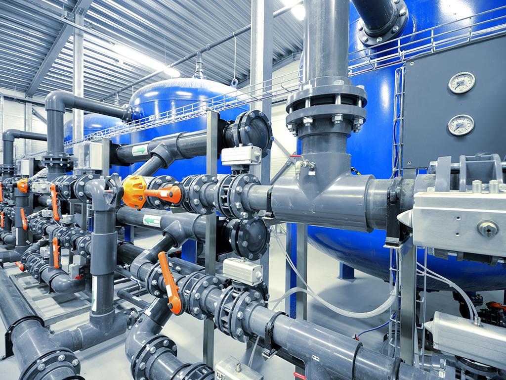 Gas Plant Interior
